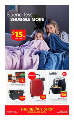 Offers from The Reject Shop in the Sydney NSW catalogue