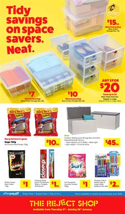 Offers from The Reject Shop in the Melbourne VIC catalogue