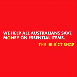 The Reject Shop catalogue ( 2 days ago )