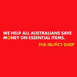 The Reject Shop catalogue ( Expires today )