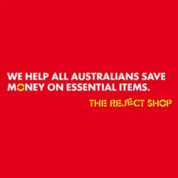 Department Stores offers in the The Reject Shop catalogue in Wallan VIC ( Expires today )