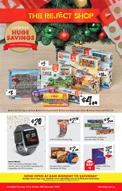 The Reject Shop catalogue ( 3 days ago )