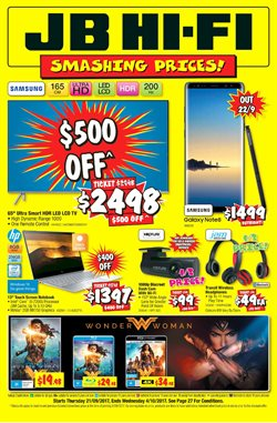 Chadstone Shopping Centre offers in the JB Hi-Fi catalogue in Melbourne VIC