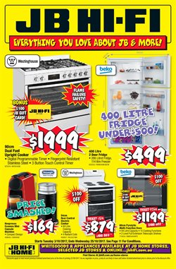Offers from JB Hi-Fi in the Rockingham WA catalogue