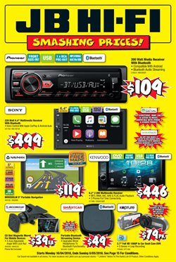 Offers from JB Hi-Fi in the Melbourne VIC catalogue