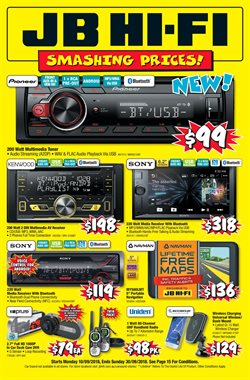 Offers from JB Hi-Fi in the Sydney NSW catalogue