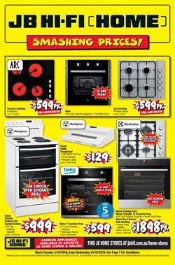 Electronics & Appliances offers in the JB Hi-Fi catalogue in Sydney NSW