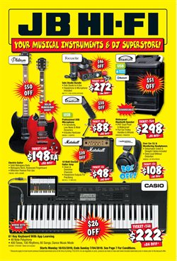 Offers from JB Hi-Fi in the Newcastle NSW catalogue