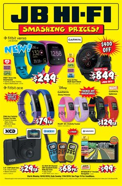Electronics & Appliances offers in the JB Hi-Fi catalogue in Adelaide SA