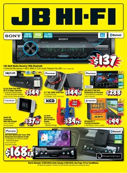Electronics & Appliances offers in the JB Hi-Fi catalogue in Helensburgh NSW