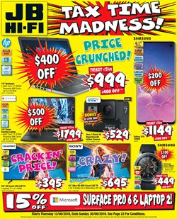 Offers from JB Hi-Fi in the Central Coast NSW catalogue