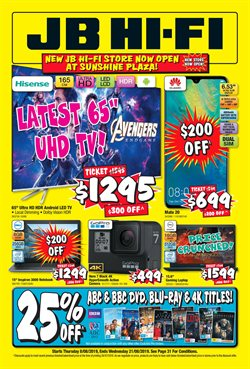 Offers from JB Hi-Fi in the Brisbane QLD catalogue