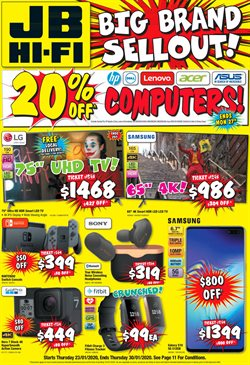 JB Hi-Fi catalogue ( Expires today)