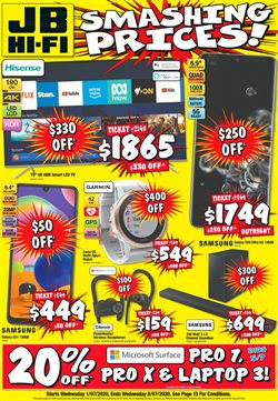 JB Hi-Fi catalogue in Adelaide SA ( Expires today )