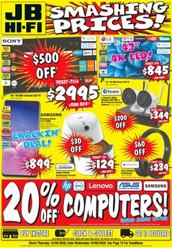 Electronics & Appliances offers in the JB Hi-Fi catalogue in Melbourne VIC ( Published today )