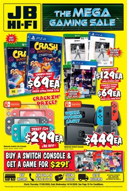 Electronics & Appliances offers in the JB Hi-Fi catalogue ( 2 days ago )