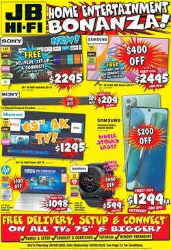 Electronics & Appliances offers in the JB Hi-Fi catalogue in Wallan VIC ( 3 days left )