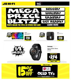 JB Hi-Fi catalogue ( 1 day ago )