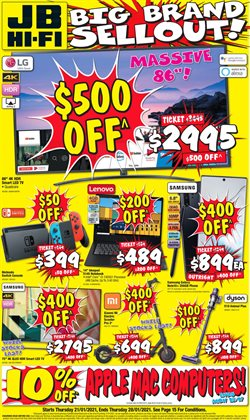 JB Hi-Fi catalogue ( Expires today )