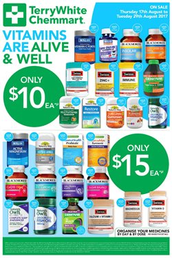 Pharmacy, Beauty & Personal Care offers in the Terry White catalogue in Newcastle NSW
