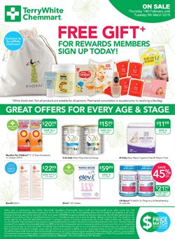 Pharmacy, Beauty & Health offers in the Terry White catalogue in Mandurah WA
