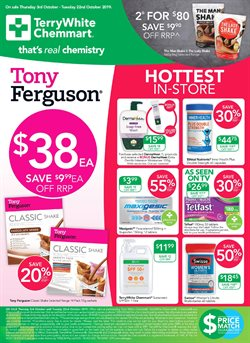 Offers from Terry White in the Hobart TAS catalogue