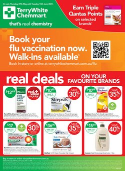 Pharmacy, Beauty & Health specials in the Terry White catalogue ( Expires today)