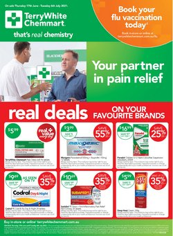 Pharmacy, Beauty & Health specials in the Terry White catalogue ( 16 days left)