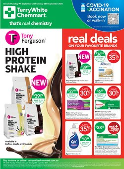 Pharmacy, Beauty & Health specials in the Terry White catalogue ( 6 days left)