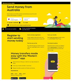 Banks offers in the Western Union catalogue in Sydney NSW ( 26 days left )