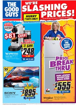 Offers from The Good Guys in the Perth WA catalogue