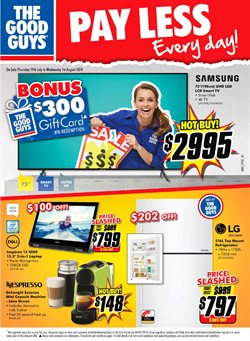 Offers from The Good Guys in the Brisbane QLD catalogue