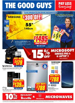 Electronics & Appliances offers in the The Good Guys catalogue in Helensburgh NSW