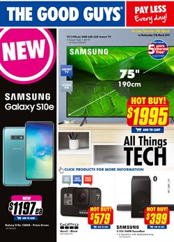 Electronics & Appliances offers in the The Good Guys catalogue in Mandurah WA