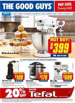 Offers from The Good Guys in the Melbourne VIC catalogue
