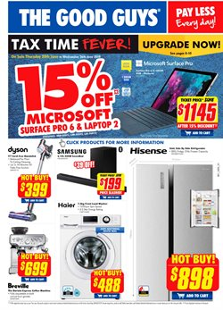Electronics & Appliances offers in the The Good Guys catalogue in Adelaide SA