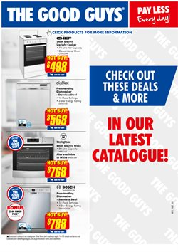 Offers from The Good Guys in the Sydney NSW catalogue
