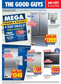 Offers from The Good Guys in the Blacktown NSW catalogue