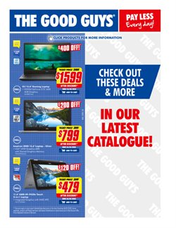 Electronics & Appliances offers in the The Good Guys catalogue in Perth WA ( 6 days left )