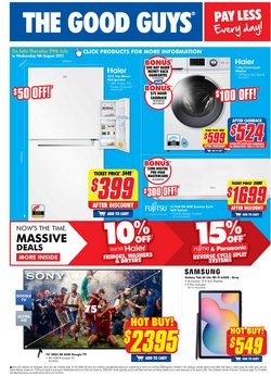 Electronics & Appliances specials in the The Good Guys catalogue ( 4 days left)