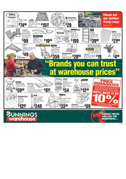 Offers from Bunnings Warehouse in the Newcastle NSW catalogue