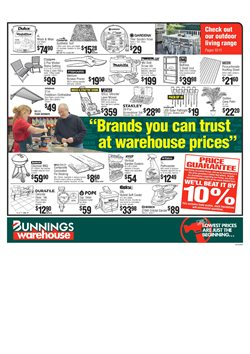 Offers from Bunnings Warehouse in the Rockingham WA catalogue