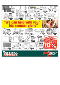 Offers from Bunnings Warehouse in the Melbourne VIC catalogue