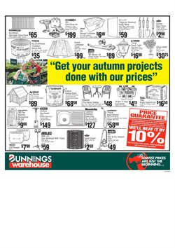 Offers from Bunnings Warehouse in the Sydney NSW catalogue