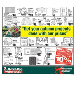 Garden, Tools & Hardware offers in the Bunnings Warehouse catalogue in Adelaide SA