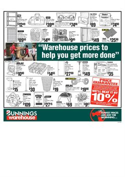 Garden, Tools & Hardware offers in the Bunnings Warehouse catalogue in Sydney NSW