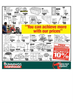Offers from Bunnings Warehouse in the Perth WA catalogue