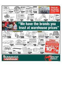 Offers from Bunnings Warehouse in the Canberra ACT catalogue