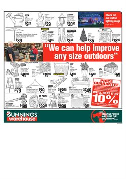 Offers from Bunnings Warehouse in the Alice Springs NT catalogue