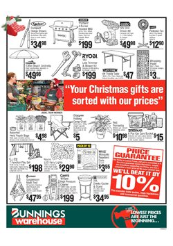 Garden, Tools & Hardware offers in the Bunnings Warehouse catalogue in Tannum Sands QLD